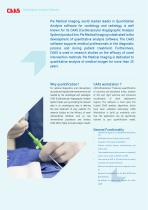 CAAS XA - Quantitative X-Ray Angiography Software - Brochure - 2