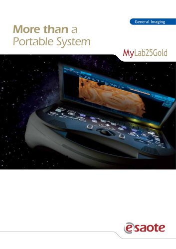 MyLab™25 Gold - Brochure