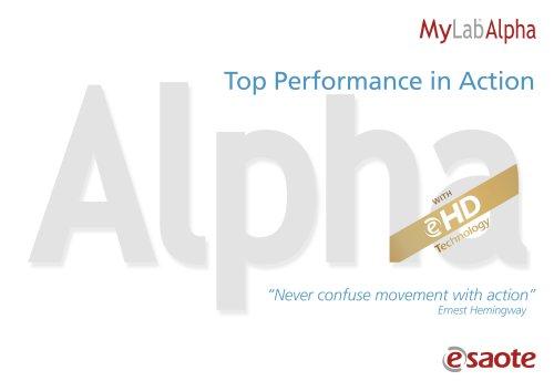 MyLab™Alpha - Brochure