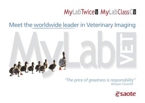 MyLab™ClassC VET - Brochure