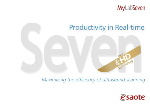 MyLab™Seven eHD Technology - Brochure