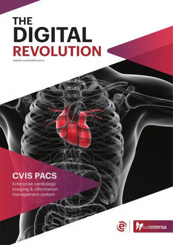 SUITESTENSA CVIS PACS - Enterprise cardiology imaging & information management system - Brochure