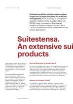 SUITESTENSA CVIS PACS - Enterprise cardiology imaging & information management system - Brochure - 4