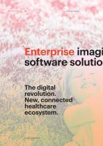 SUITESTENSA RIS PACS/RT/MG, The Digital Revolution - Enterprise Imaging - Brochure - 2