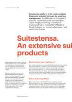 SUITESTENSA RIS PACS/RT/MG, The Digital Revolution - Enterprise Imaging - Brochure - 4