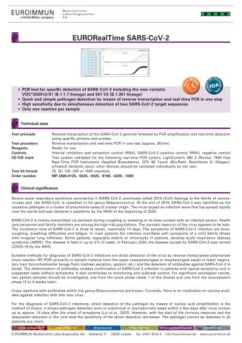 EURORealTime SARS-CoV-2
