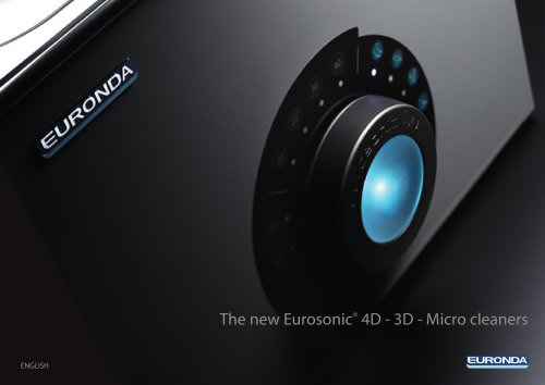The new Eurosonic® 4D - 3D - Micro cleaners
