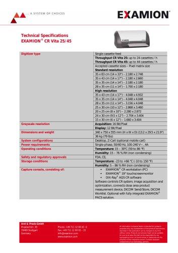EXAMION CR Vita 25 / 45