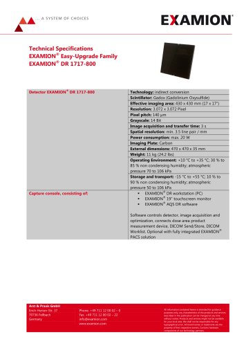 EXAMION DR 1717-800