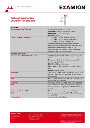 EXAMION DR Standard