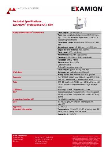 EXAMION Professional X-Ray Equipment