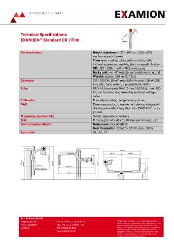 EXAMION Standard X-Ray Equipment