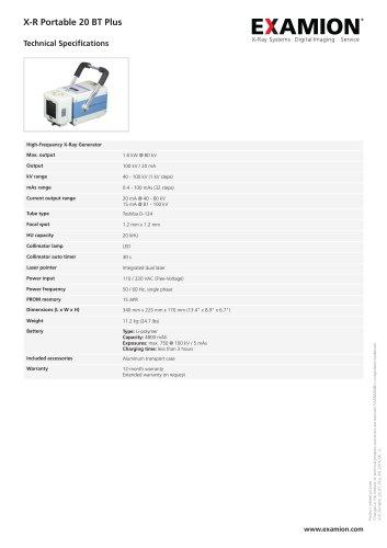 X-R Portable 20 BT Plus