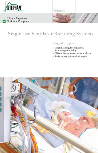 Single-use Ventilator Breathing Systems