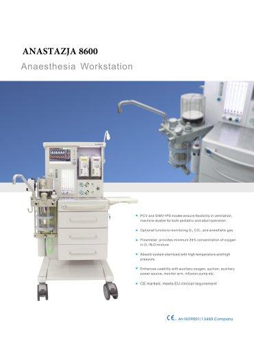 Anesthesia apparatus type ANASTAZJA 8600
