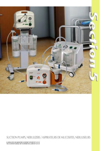 Section 5 - Suction Pump, Nebulizer, Tens