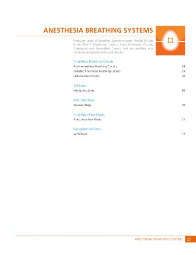 Anesthesia Breathing Systems