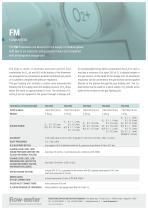 FM 2200, FM 2800 - flowmeters