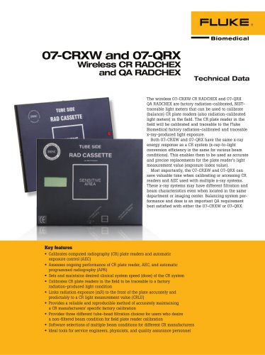 07-CRXW and 07-QRX