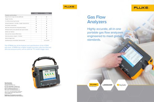 Gas Flow Family Brochure