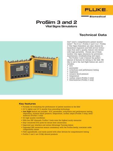 ProSim 3 and 2