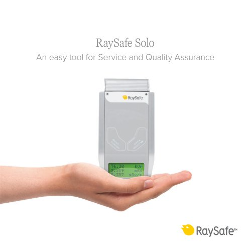 RaySafe Solo