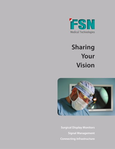 FSN Medical Technologies 15-16 Brochure