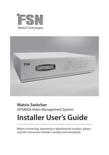 model MTS800A