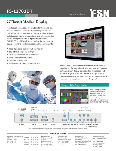 MultiTouch FS-L2701DT