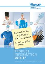product information 2016/17