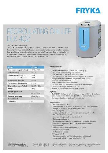 Circulating Cooler DLK 402