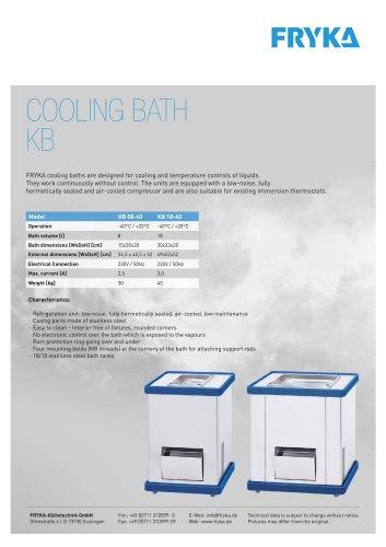 COOLING BATHS