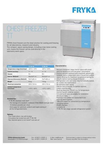 TT 90 Chest freezer