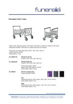 Extendable Coffin Trolley - 1