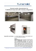 FUNERALIA body and coffin mortuary refrigerators - 1