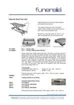 Hydraulic Body Tray Lifter - 1
