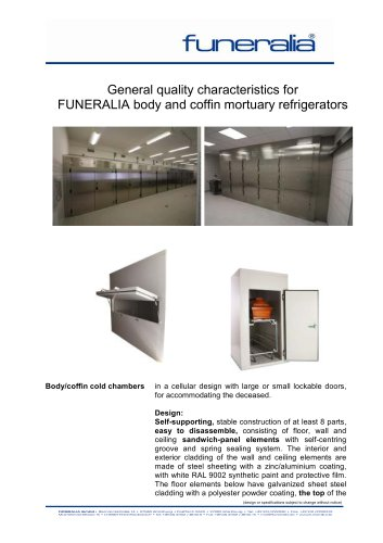 Mortuary Refrigerators