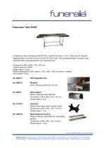 Preparation Table BASIC - 1