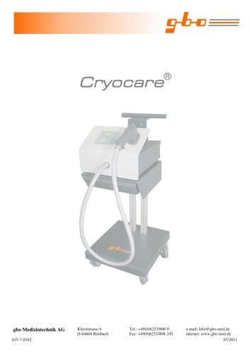 CRYOCARE® with accessories
