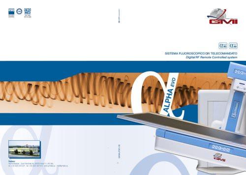 Alpha Evo brochure - 2011