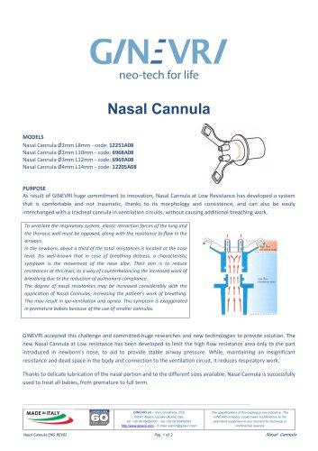 Nasal Cannula