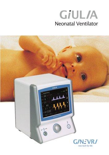 Neonatal Ventilator - Giulia