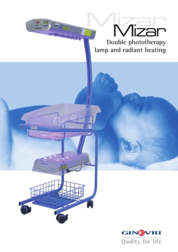 Warming and Double Phototherapy Lamp - Mizar