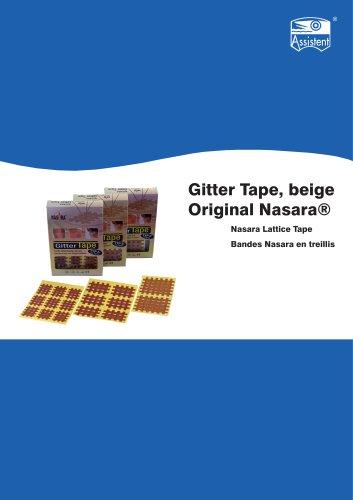 Nasara lattice tape
