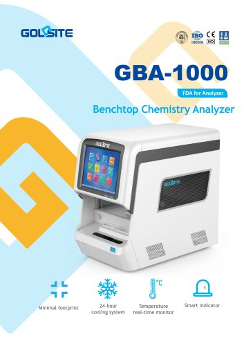 Clinical Chemistry Analysis Systems GBA-1000