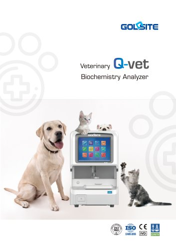 Q-vet Veterinary Biochemistry Analyzer Brochure