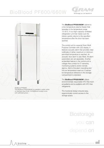 BioBlood PF600W & 660W