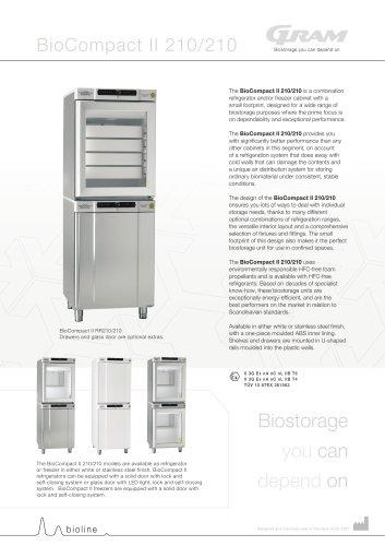 BioCompact II 210/210 combination