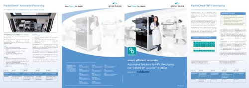 Automated Solutions for HPV Genotyping