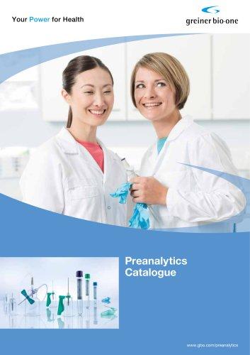 VACUETTE® Preanalytics Catalogue